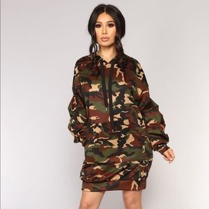 Fashion Nova Civilian Camo Tunic